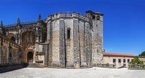 Templariusza klasztor Chrystus w Tomar Zdjęcia Royalty Free