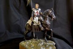 Templariusza rycerz Zdjęcia Stock