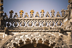 Templars architecture Stock Images
