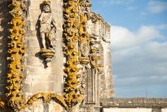Templars stone architecture Stock Photo