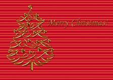 Templat 4 do Natal Imagem de Stock