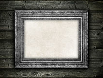 Template background - old frame stock images
