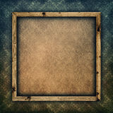 Template background - paper sheet in picture frame Royalty Free Stock Images