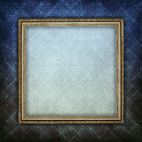 Template background - paper sheet in picture frame Stock Images