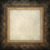 Template background - paper sheet in picture frame Stock Image