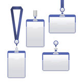 Template Badge Identification Set. Vector Stock Photo