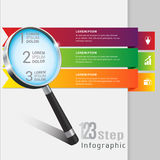 Template banner infographics. Abstract 3D Modern template vector banner infographics vector illustration