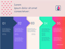 Template for banner or poster. Bright, juicy and modern colors. Original composition Stock Photo