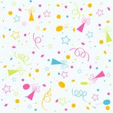Template birthday background Royalty Free Stock Photos