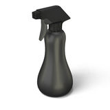 Template black spray bottle. Mockup for your design on a white. 3d illustration Royalty Free Stock Images