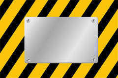 For template Blank alert Sign Royalty Free Stock Image