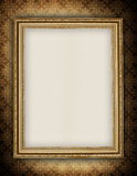 Blank sheet in picture frame vector illustration