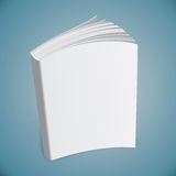 Template book. Illustration cover Royalty Free Stock Photography
