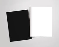 Template booklet cover Royalty Free Stock Photos