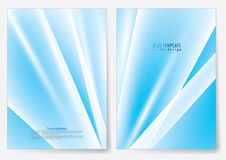 Template brochure cover  design Royalty Free Stock Photography