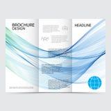 Template brochure design Royalty Free Stock Photos