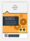 Template, Brochure or Flyer for your Business. Royalty Free Stock Images