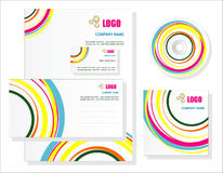 Template for business artworks. Vector Stock Photography
