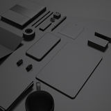 Template business for branding Stock Image