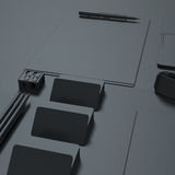 Template business for branding Royalty Free Stock Image