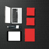 Template business for branding Royalty Free Stock Photo