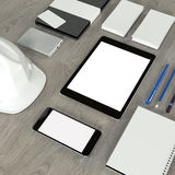 Template business for branding Stock Photography