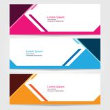 Template for bussines website or advertising Vector abstract design banner web template 8. Template for your bussines website or advertising Vector abstract Stock Photo
