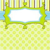 Template cards for the boy,. Illustration, eps10 Stock Images