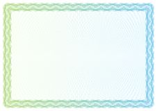 Template certificate, currency and diplomas stock illustration