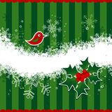 Template christmas greeting card Stock Images