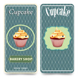Template for coffee, bakery shop Royalty Free Stock Image