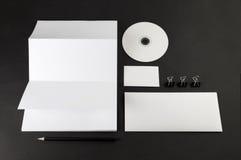 Template corporativo para artes -finais do negócio Fotos de Stock
