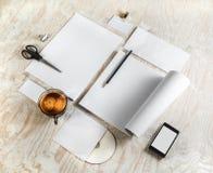 Template corporativo para artes -finais do negócio Fotografia de Stock