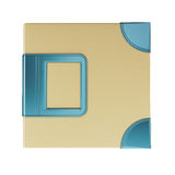 Template cover photo album Royalty Free Stock Photography