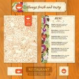 Template de corporation pour des dessin-modèles d'affaires Cartes de visite professionnelle de menu et de visite pour illustration de vecteur