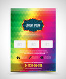 Template design abstract spectrum Stock Photo