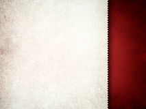 Template design - blank sheet on red background Royalty Free Stock Image