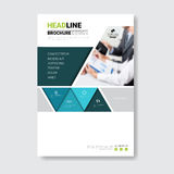 Template Design Brochure, Annual Report, Magazine, Poster, Corporate Presentation, Portfolio, Flyer With Copy Space Royalty Free Stock Images