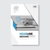 Template Design Brochure, Annual Report, Magazine, Poster, Corporate Presentation, Portfolio, Flyer With Copy Space Stock Photos