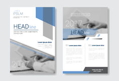 Template Design Brochure Set, Annual Report, Magazine, Poster, Corporate Presentation, Portfolio, Flyer Collection With. Copy Space Vector Illustration Royalty Free Stock Image