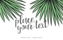Template design concept sketch illustration for marketing. Concept mockup Stock Photography