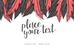 Template design concept sketch illustration for marketing. Concept mockup Stock Photos