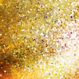 Template design on gold glittering. EPS 10 Royalty Free Stock Photos