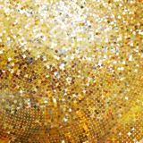 Template design on gold glittering. EPS 10. Template design on gold glittering background. EPS 10 vector file included Royalty Free Stock Photos
