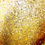 Template design on gold glittering. EPS 10 Royalty Free Stock Photo