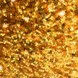 Template design on gold glittering. EPS 10 Royalty Free Stock Photography