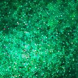 Template design on green glittering. EPS 10 Stock Photo