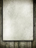 Template design - grunge card on wood Royalty Free Stock Photos