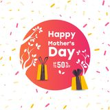 Happy Mother`s Day. Stock Image