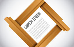 Template design. Poster Template modern Vector Design Royalty Free Stock Photo